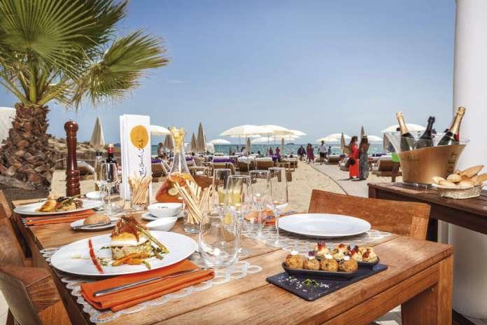 gastronomía a pie de mar