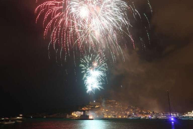 Noche mágica en Ibiza