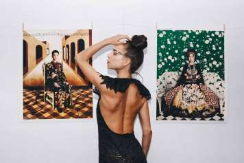 La exposición recoge una serie de los mejores trabajos del artista.
