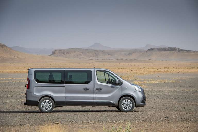 Nissan NV-300: una furgoneta versátil de largo recorrido
