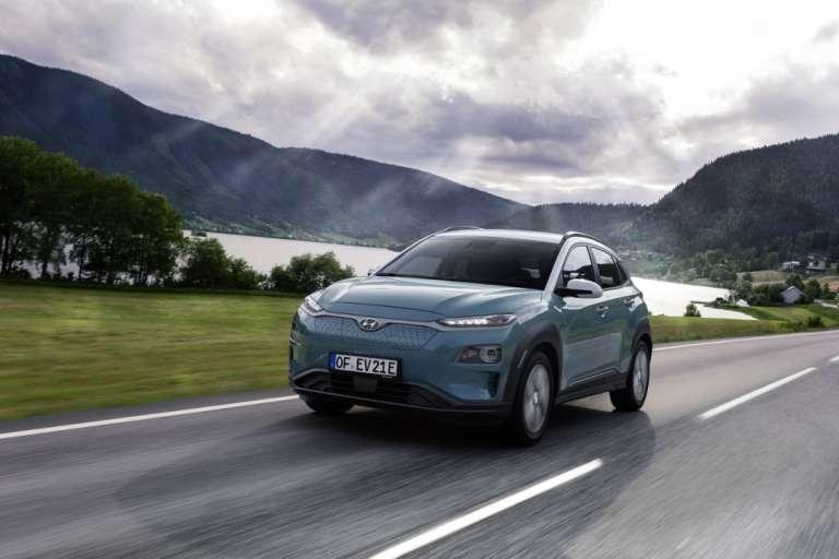 Hyundai Kona Eléctrico: diseño y actitud al volante