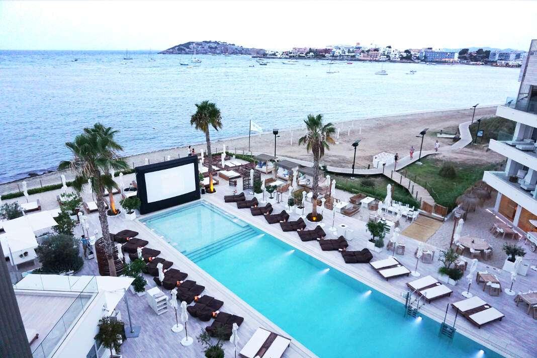 cine al aire libre en Ibiza