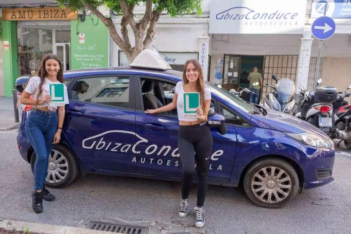 sacarse el carné de conducir en Ibiza