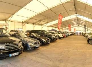 Vehículos de segunda mano de Ibiza. En el salón se exponen más de un centenar de vehículos de ocasión. Foto: S.G.C.