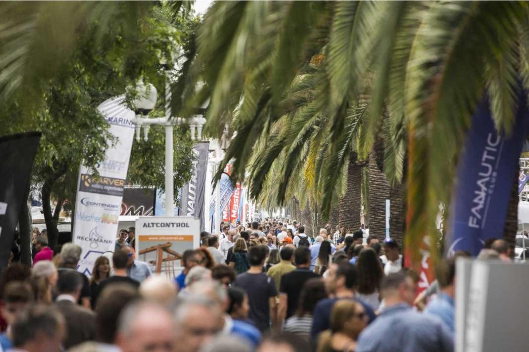 Gran presencia de público en la pasada edición del Salón Náutico de Barcelona.