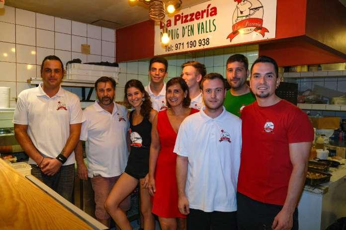 pizzería en Puig d'en Valls
