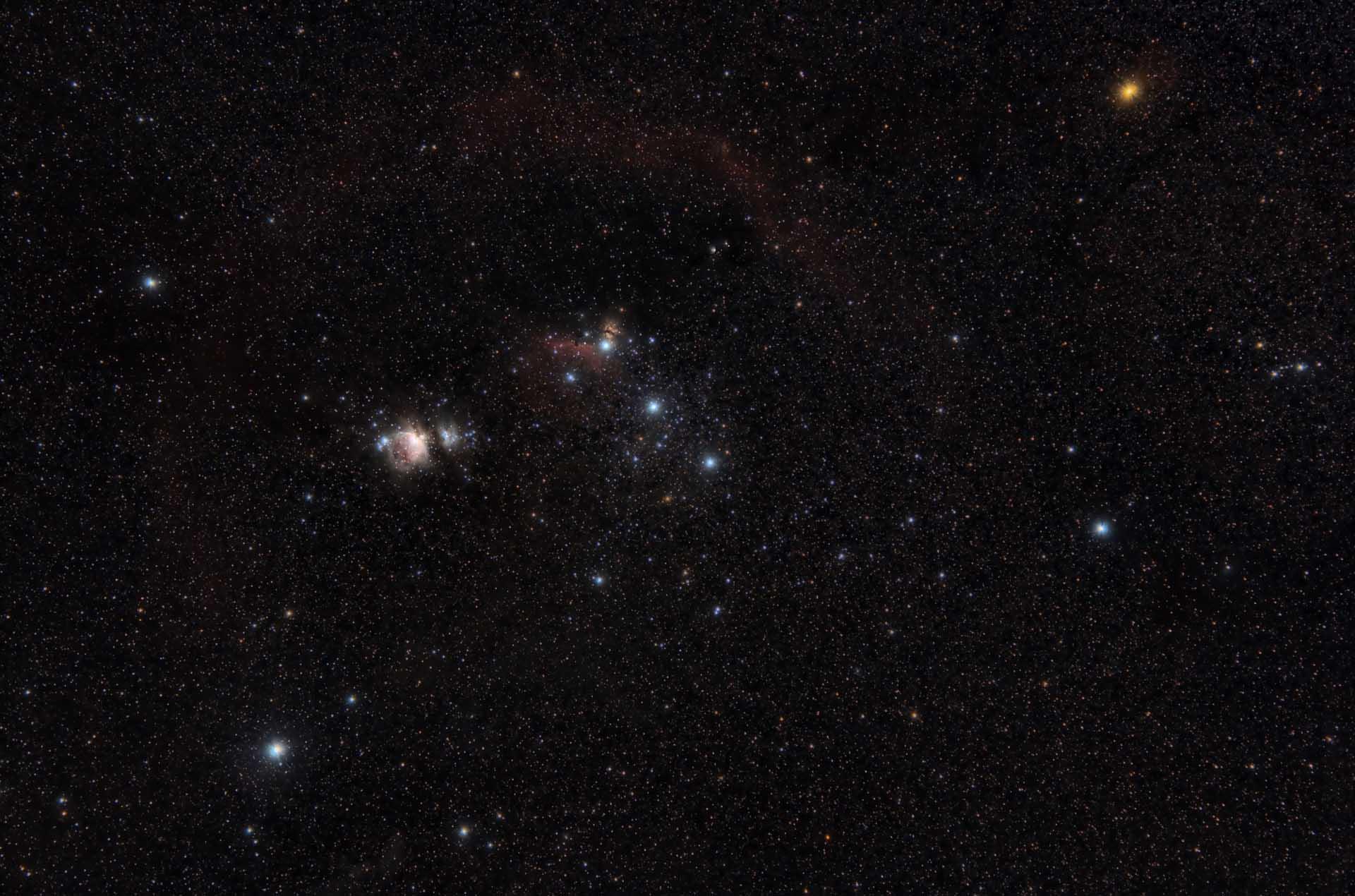 Constelacion de Orión.