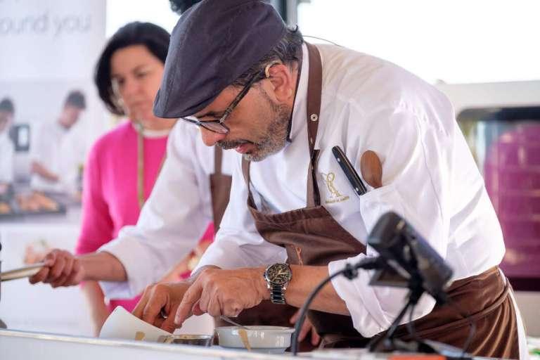 Jesús Sánchez: «el 'bullit de peix' es mi plato ibicenco favorito»