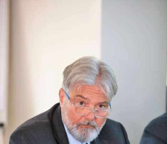 Pedro Ballester, director regional de Banco Sabadell en una conferencia en Mallorca. FOTO: GUILLEM BOSCH