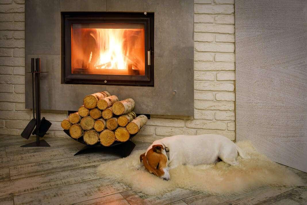 calentar el hogar en invierno