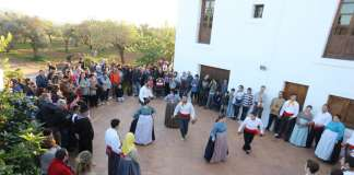 Fiesta del aceite en Can Pep de sa Plana en Forada.