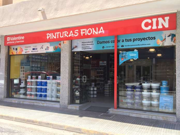 expertos en pintura en Ibiza