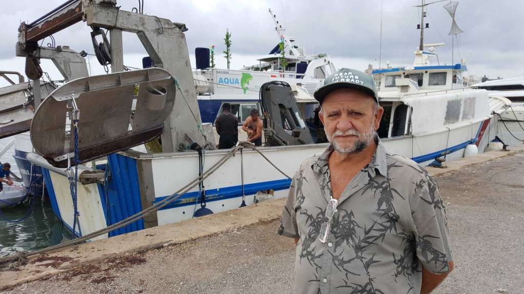 'Curt' en el muelle pesquero de Ibiza. J. M. L. R.