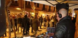 Fiesta de Nochevieja en la plaza del Parque el año pasado. Foto: Vicent Marí