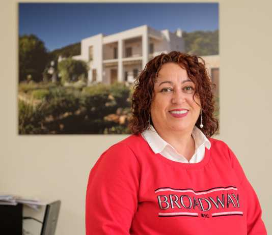 Consuelo Antúnez, presidenta de la Asociación de Construcción y Derivados de Ibiza y Formentera.