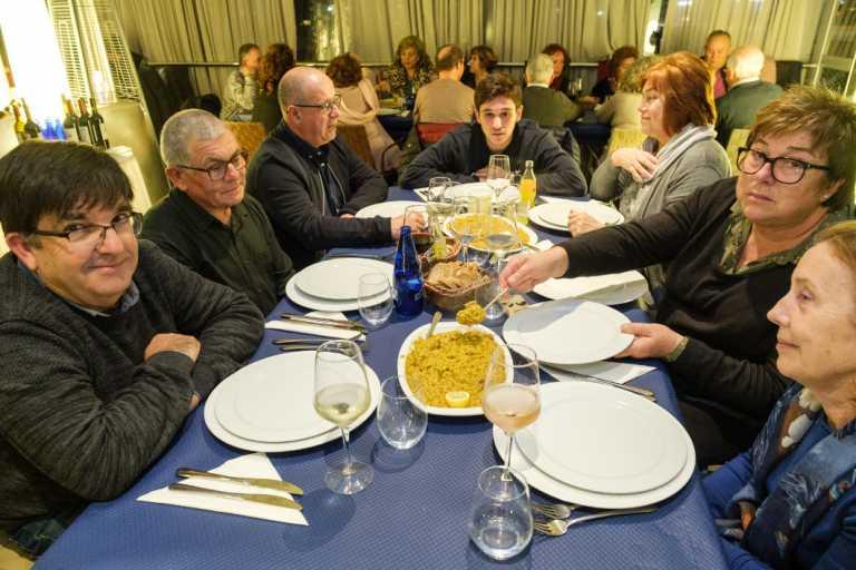 Un 'arròs de matances' muy solidario  en Sant Antoni