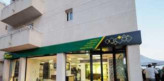 Una de las dos tiendas de exposición de Santa Eulària.