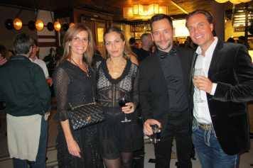 Carol, Virgina Vald, Rafa Ruiz y Christian Braun.