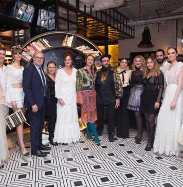 Algunos de los diseñadores, modelos y representantes políticos que acudieron a la fiesta Adlib celebrada en el Hotel Only You Atocha de Madrid. Fotos: CIE