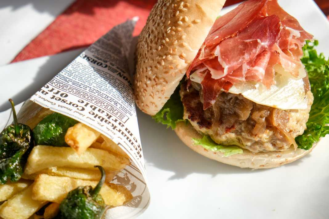 Restaurante Oli. Bocadillos y hamburguesas sin gluten.