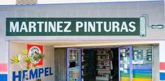 La tienda de Martínez Pinturas está en Ca n'Escandell, en Ibiza.
