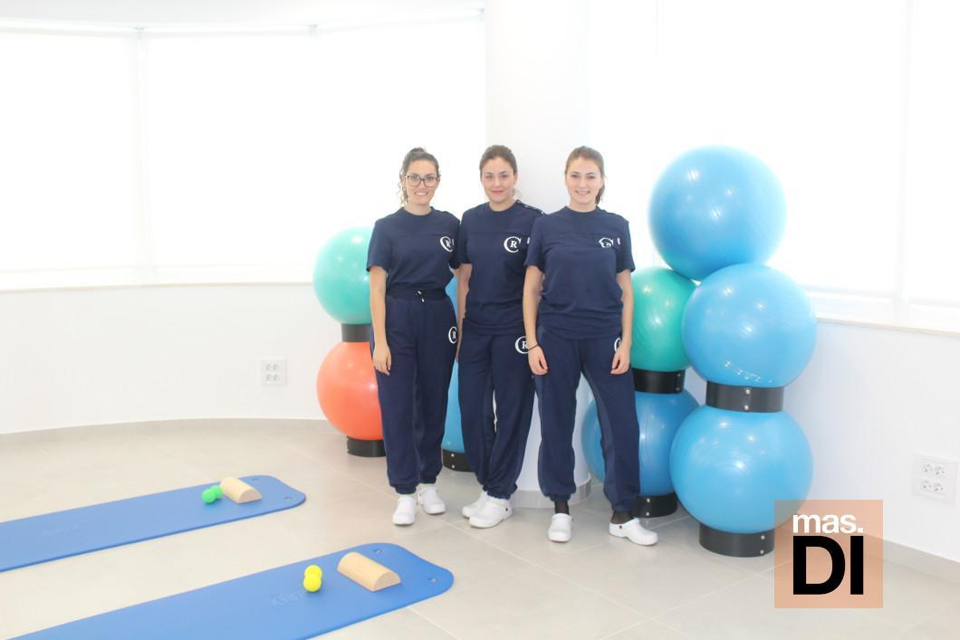 Equipo de fisioterapeutas de la Unidad de Rehabilitación de Suelo Pélvico.