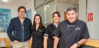 El equipo de profesionales de la Clínica Barcenilla.