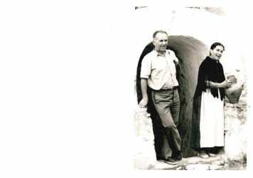 Antonio y Catalina, en los primeros años de la empresa.