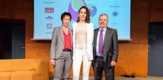 Cati Serra, Katina y Toni Guasch, dos generaciones al frente de la empresa familiar Distribuciones Guasch.