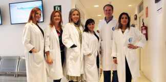 Equipo de profesionales de la Unidad de Ginecología y Obstetricia de la Policlínica Nuestra Señora del Rosario.