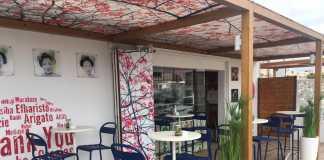 Una agradable terraza recibe a los comensales. Foto: Restaurante Arigato