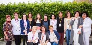 Las mujeres cocineras, productoras, proveedoras y periodistas tomaron las riendas del Foro Profesional de Gastronomía y posaron en el intermedio.
