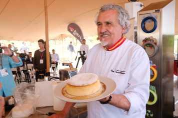 El maestro pastelero Torreblanca demostró su genialidad.