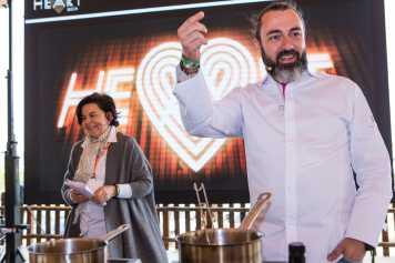 Rafa Zafra presentó un ideario culinario del Patromonio.