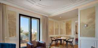 Bless Hotel Madrid está ubicado en el barrio de Salamanca.