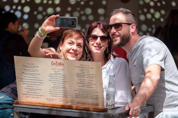 Una manera diferente de disfrutar de un domingo en familia. fotos: S.G.C