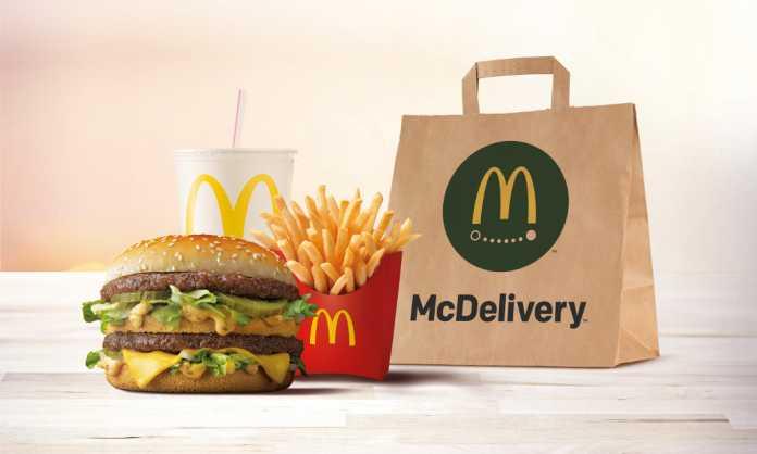 Desde esta semana ya funciona el servicio McDelivery en Ibiza.