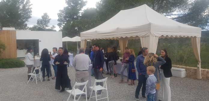 Imagen del evento, con motivo del tercer aniversario de Aurens en Ibiza.