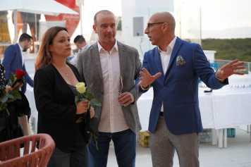 Alejandra Ferrer, Jaume Ferrer y Juanma Costa.