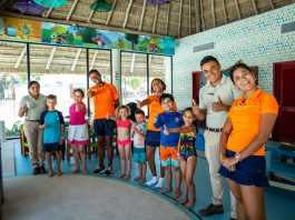 Actividades en Punta Cana en el día Mundial de los Océanos.