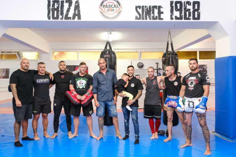 La fuerza de un gimnasio pionero en Ibiza