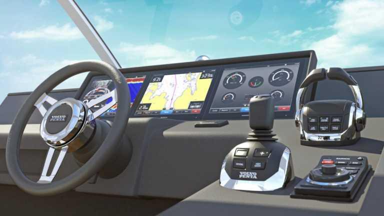 Sensación única en la navegación con Volvo Penta