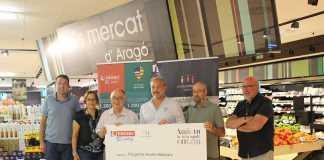 Eroski entrega un donativo de 40.000 euros a Proyecto Hombre