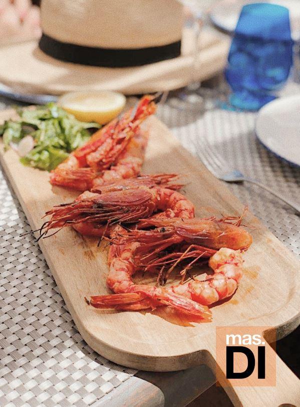Sabor mediterráneo con productos 'del huerto a la mesa' en Chiringuito Blue