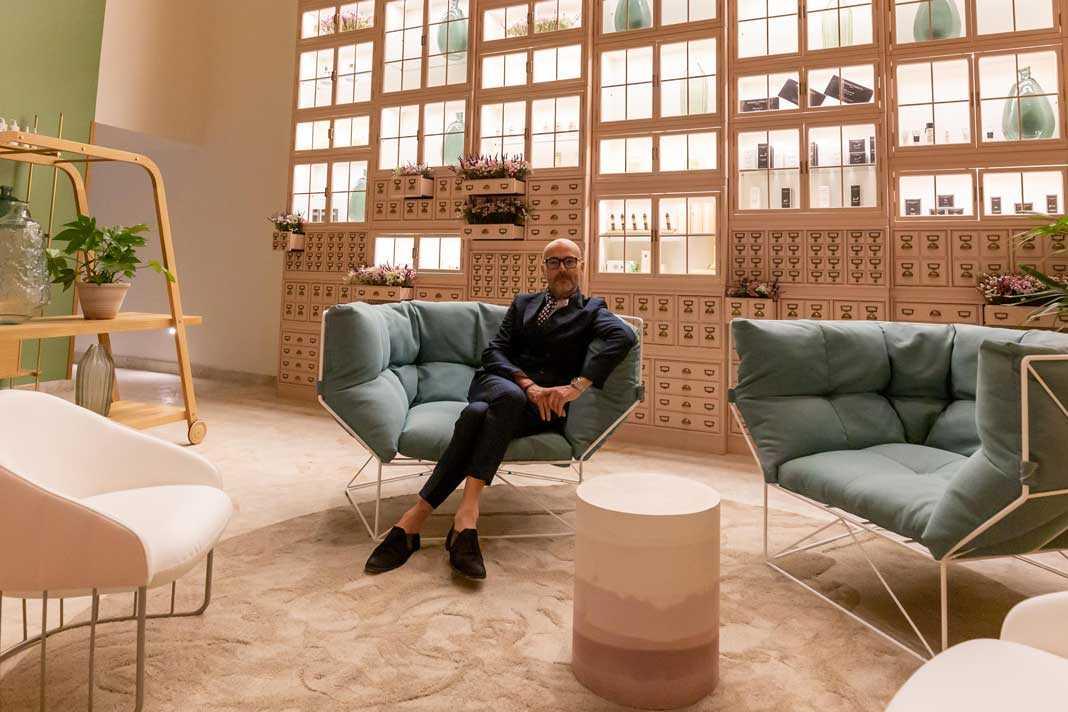 Rossano Ferretti trabaja con artistas de renombre nacional e internacional. Sergio G. Cañizares