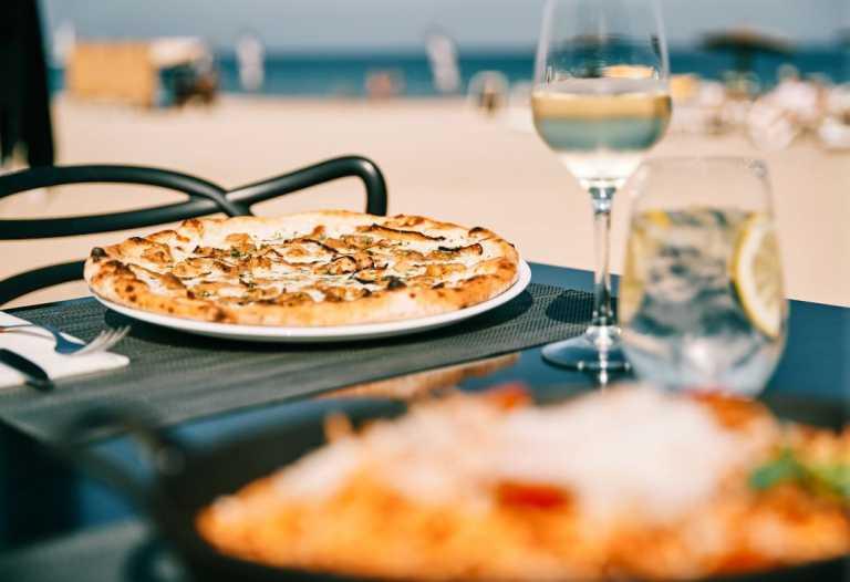 Sir Rocco Beach Restaurant te acerca a Italia en cada bocado