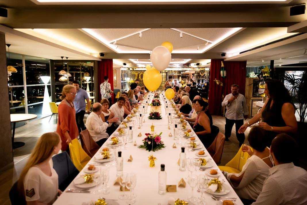 El Restaurante Corso es el lugar ideal para celebrar cenas de empresa y eventos privados. Fotos: Hotel Corso