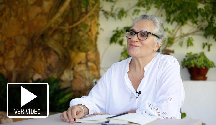 Alba Pau: «Lloro mucho por los niños que sufren»