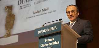 Javier Moll: «Este periódico late desde 1893 en el corazón de Ibiza y Formentera»