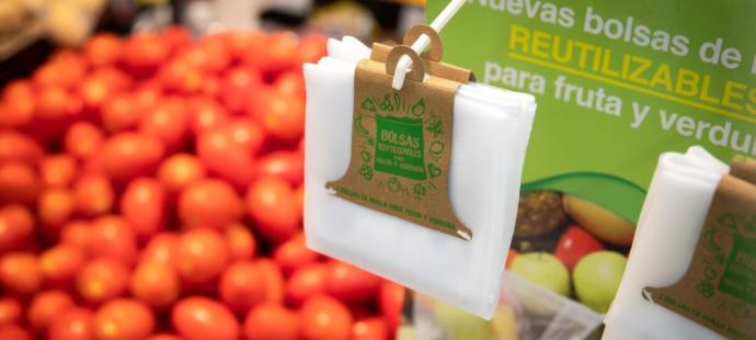 Lidl prueba en Balears una bolsa sostenible para la fruta